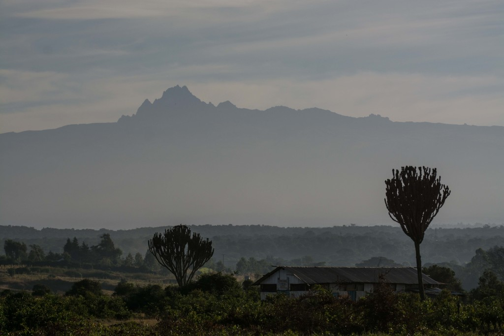 Mt. Kenia am Morgen